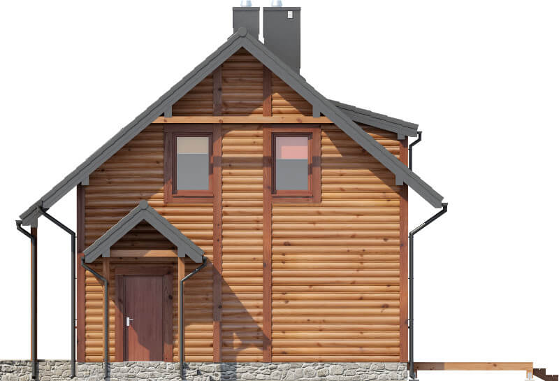 Projekt domu DM-6585 - elewacja