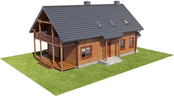 Projekt domu DM-6585 - model