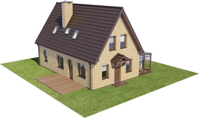 Projekt domu L-6580 - model