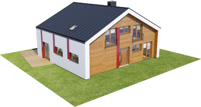 Projekt domu L-6569 - model