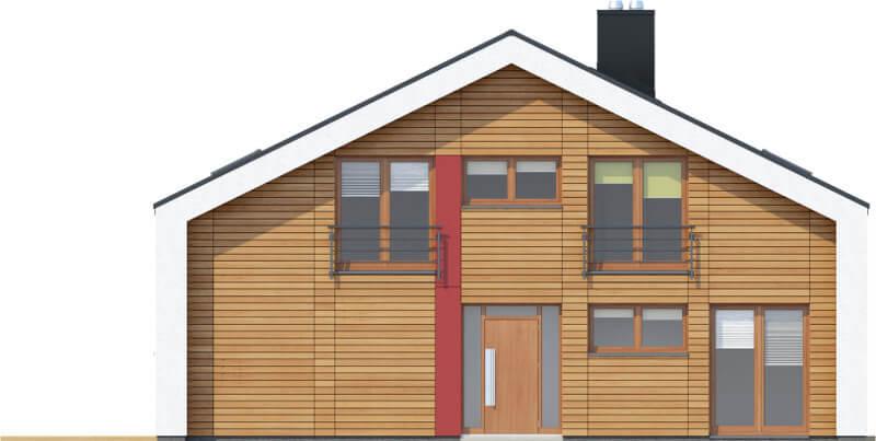 Projekt domu L-6569 - elewacja