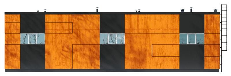 Projekt LK-83 - elewacja