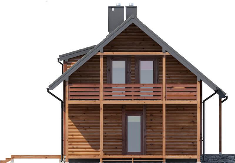 Projekt domu L-6585 - elewacja