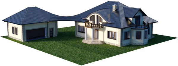 Projekt domu DM-6587 - model
