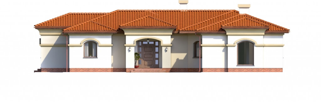 Projekt domu DM-6595 - elewacja