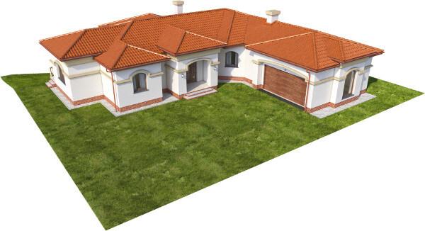 Projekt domu DM-6595 - model