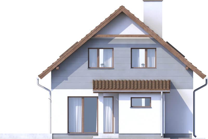 Projekt domu DM-6592 - elewacja
