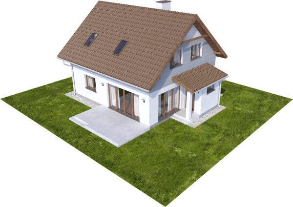 Projekt domu DM-6592 - model
