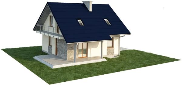 Projekt domu DM-6143 E - model