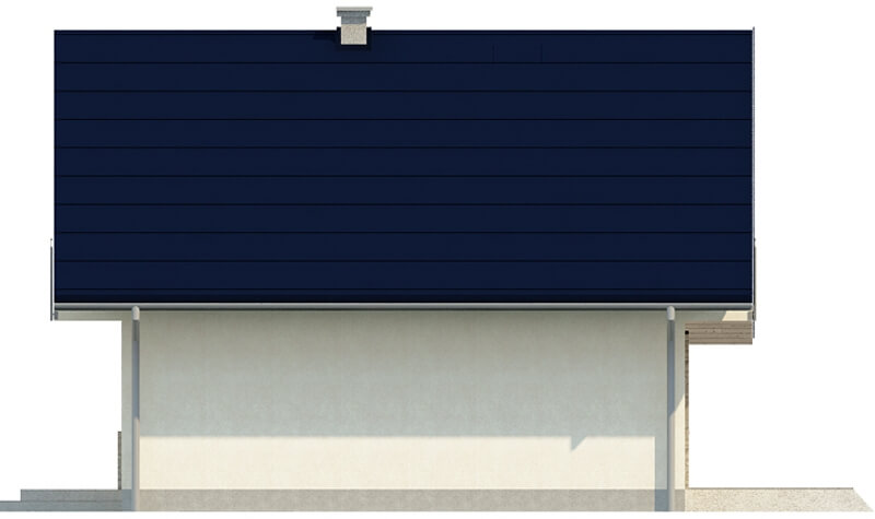 Projekt domu DM-6143 E - elewacja