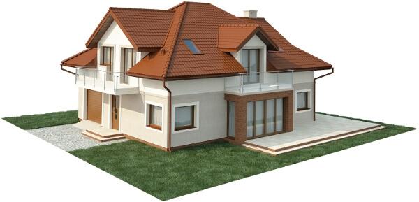 Projekt domu DM-6553 - model