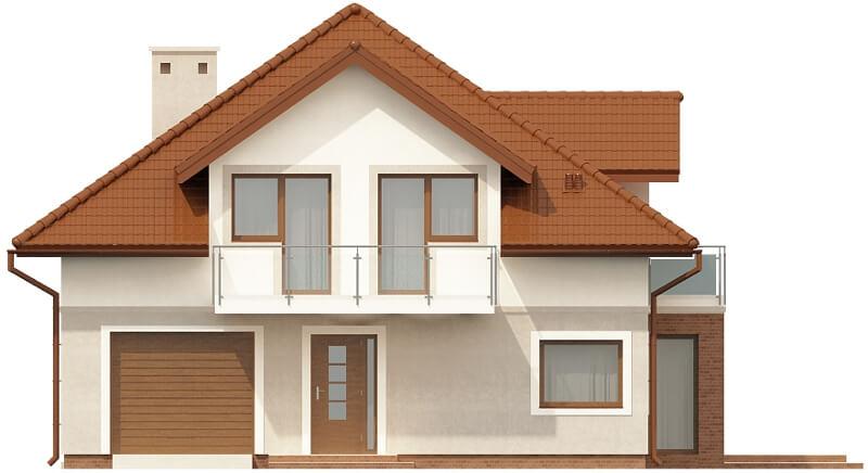 Projekt domu DM-6553 - elewacja