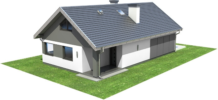 Projekt domu DM-6596 - model