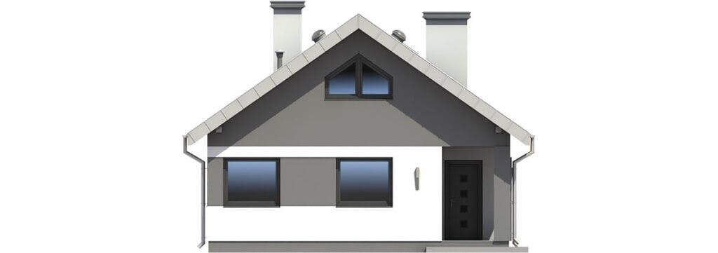 Projekt domu DM-6596 - elewacja