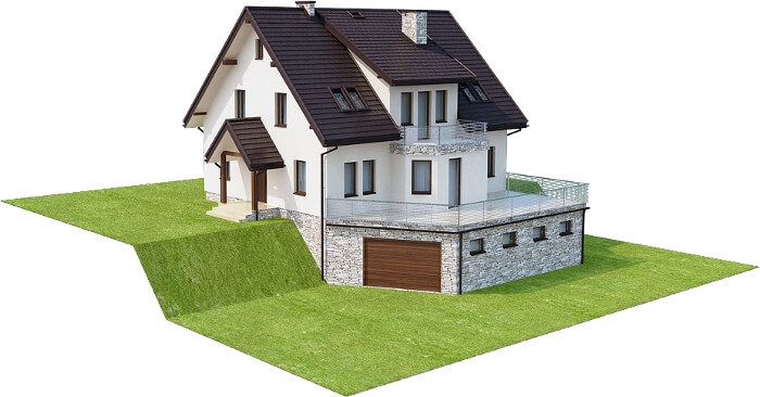 Projekt domu DM-6547 - model