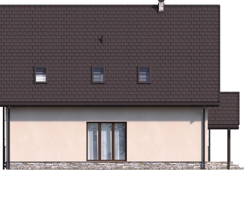 Projekt domu DM-6547 - elewacja
