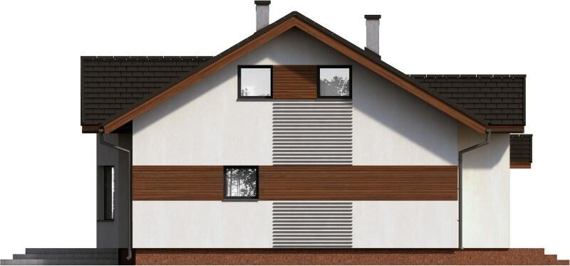 Projekt domu DM-6565 - elewacja