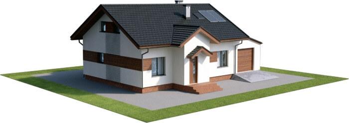 Projekt domu DM-6565 - model