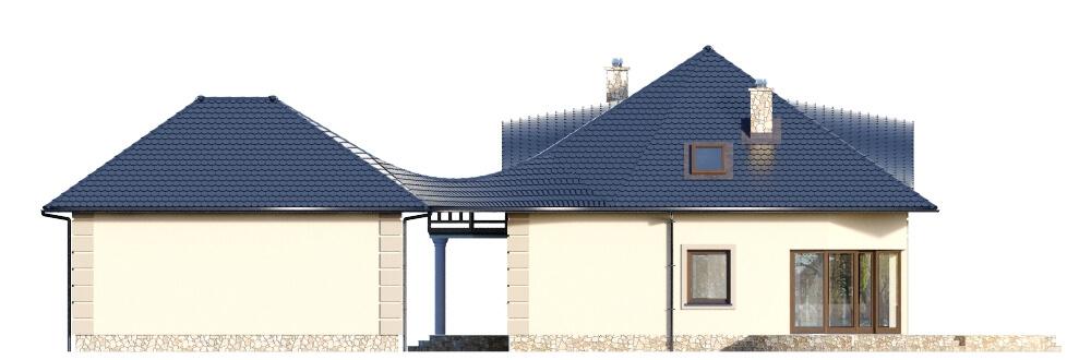 Projekt domu L-6587 - elewacja