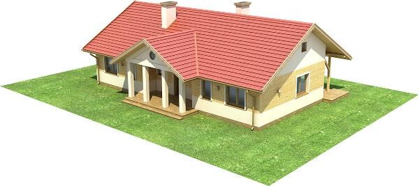 Projekt domu DM-6583 - model