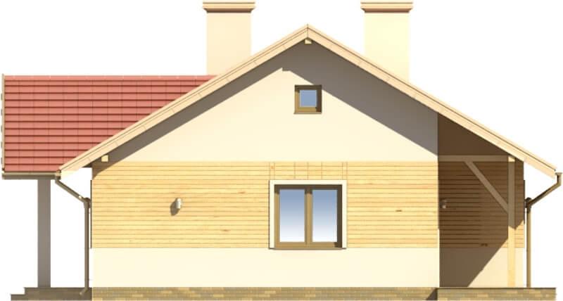 Projekt domu DM-6583 - elewacja