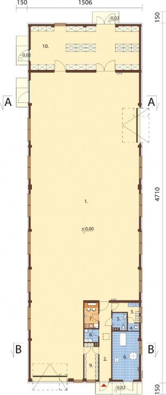 Projekt K-94 - rzut