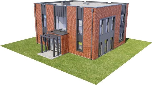 Projekt domu DM-6589 - model