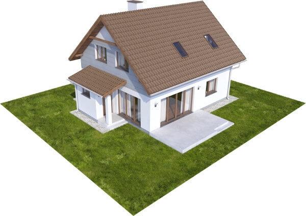 Projekt domu L-6592 - model