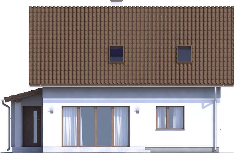 Projekt domu L-6592 - elewacja