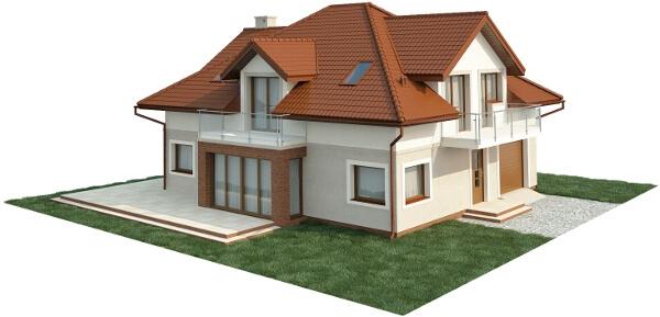 Projekt domu L-6553 - model
