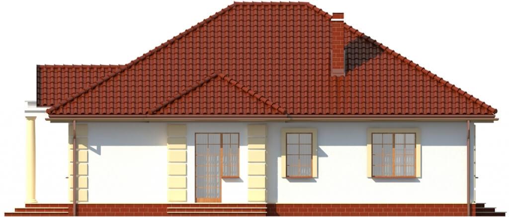 Projekt domu DM-6209 - elewacja