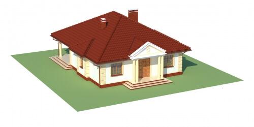 Projekt domu DM-6209 - model
