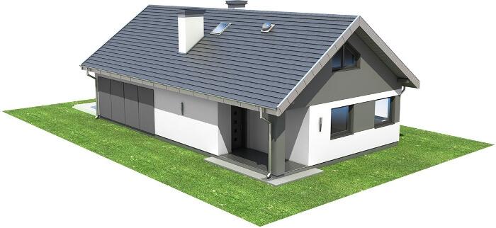 Projekt domu L-6596 - model