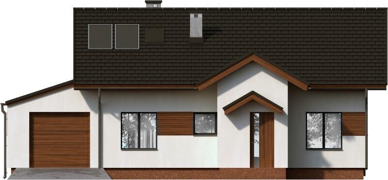 Projekt domu L-6565 - elewacja