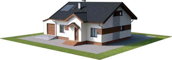 Projekt domu L-6565 - model
