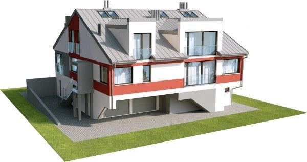 Projekt domu DM-6504 - model