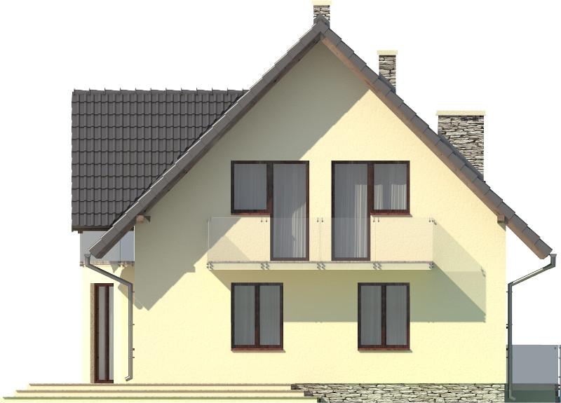 Projekt domu DM-6006 N - elewacja