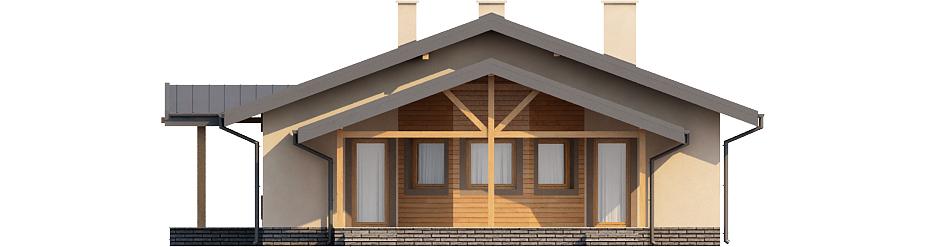 Projekt domu DM-6210 - elewacja