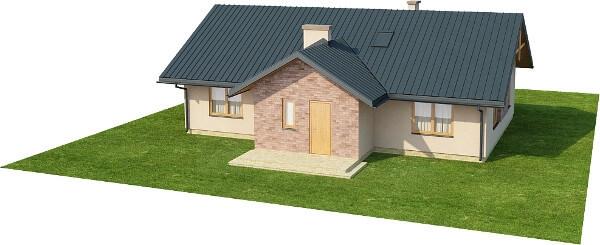 Projekt domu DM-6141 N - model