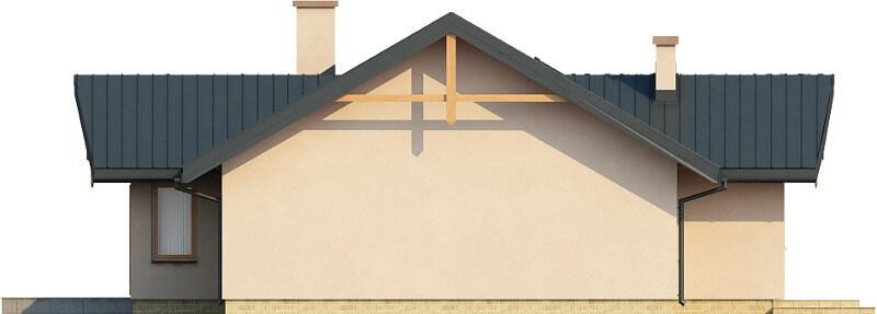 Projekt domu DM-6141 N - elewacja