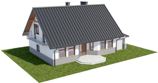 Projekt domu DM-6149 N - model