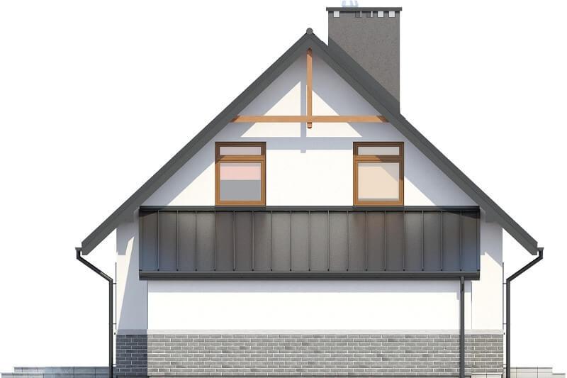 Projekt domu DM-6149 N - elewacja