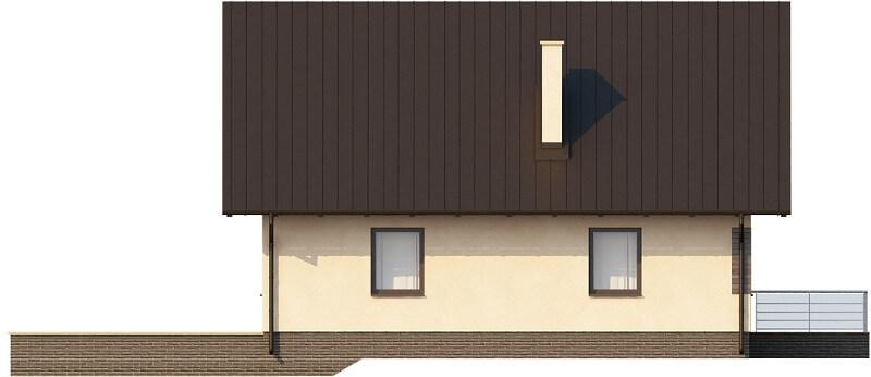 Projekt domu DM-6164 N - elewacja