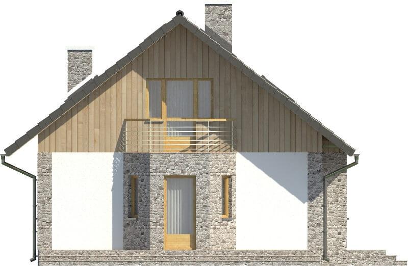 Projekt domu DM-6168 N - elewacja