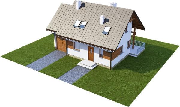 Projekt domu DM-6183 N - model