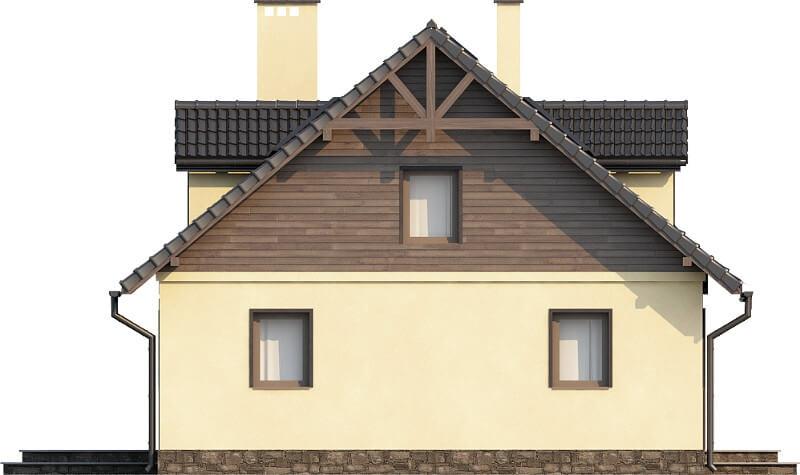 Projekt domu DM-6187 N - elewacja