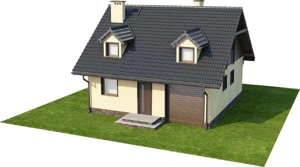 Projekt domu DM-6187 N - model
