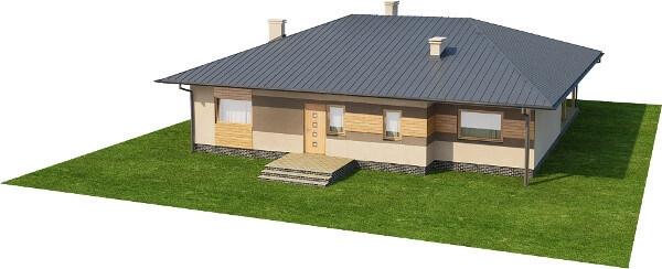 Projekt domu DM-6202 N - model