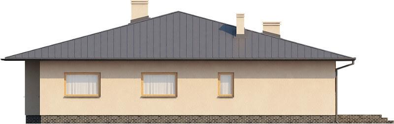 Projekt domu DM-6202 N - elewacja