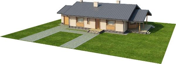 Projekt domu DM-6210 N - model